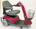 3 Wheel Mobility Scooter With stablizers