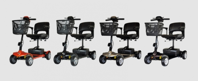 Kymco K-Lite Comfort Mobility Scooter – CCF Mobility